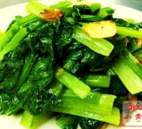 季節野菜ニンニク風味炒め
